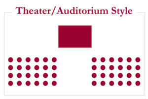 theater/auditorium style
